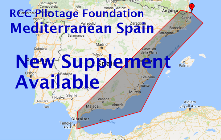 RCC Pilotage Foundation Mediterranean Spain