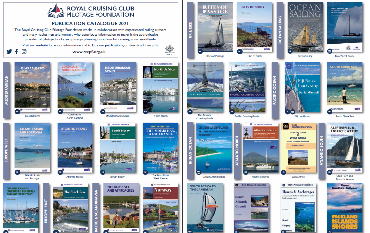 New Pilotage Foundation publications catalogue for 2021