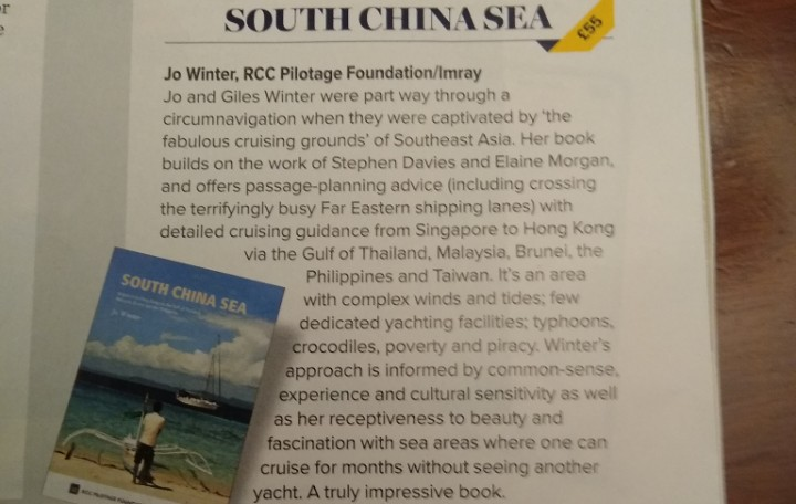 Review of South China Sea in Yachting Monthly