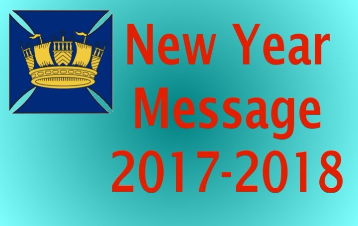 2018 New Year Message from the Management Team at the RCC Pilotage Foundation