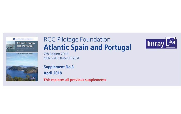 RCC Pilotage Foundation Atlantic Spain and Portugal