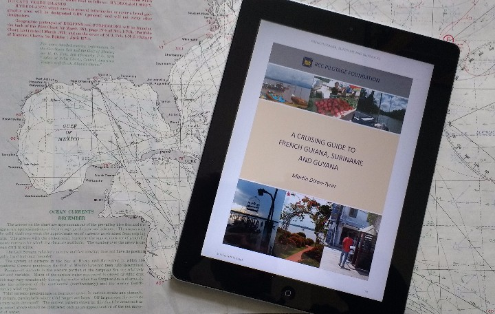 New eBook version of French Guiana, Suriname and Guyana for Kindle